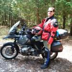 Alaska 2015 - Victor W. and Bike (Gunther)