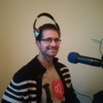 Andrew on the CIUT airwaves